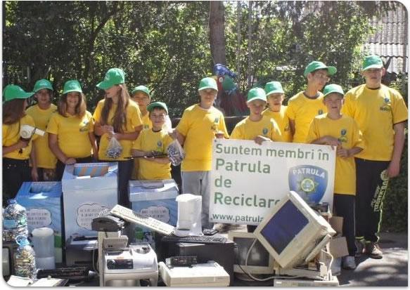 suntem membrii in Patrula de Reciclare